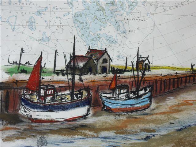 vissershaven_pastel_op_zeekaart